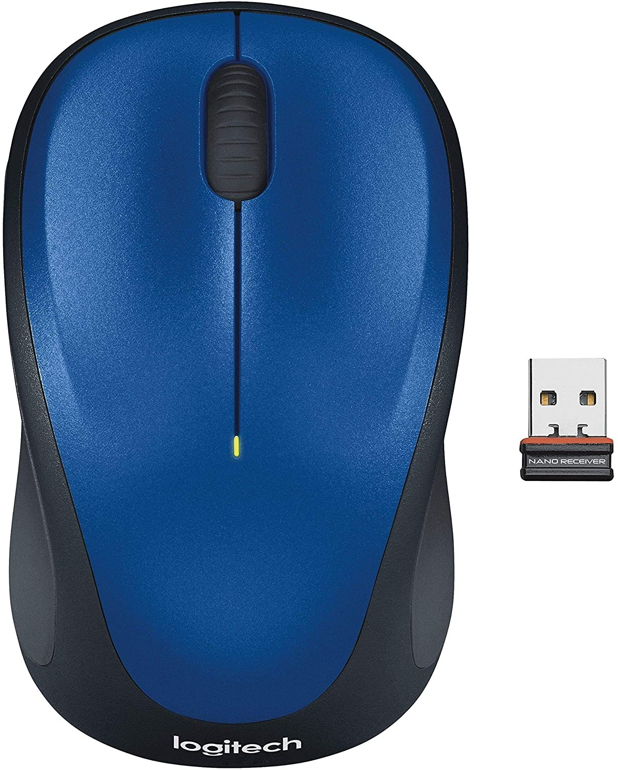 Logitech Wireless Mouse for Windows, Mac and Linux - Blue
