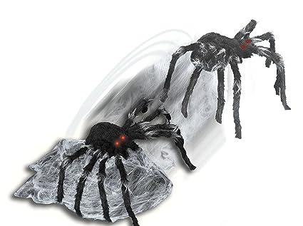 spirit halloween 21 inch black jumping spider animatronics decorations
