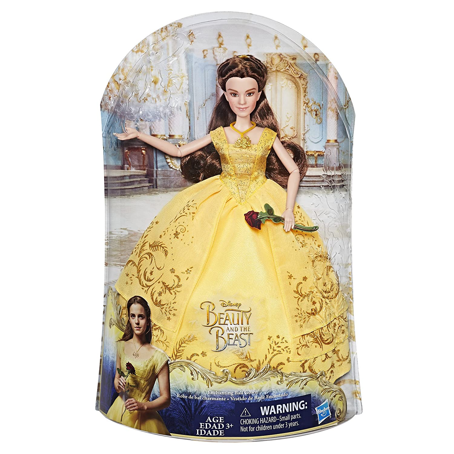 Amazon Disney Beauty And The Beast Enchanting Ball Gown Belle Toys Games