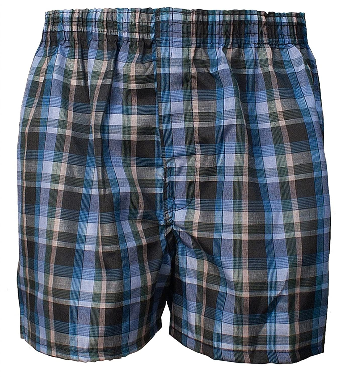 ToBeInStyle Boys Pack of 6 Tartan Patterned Boxer Shorts
