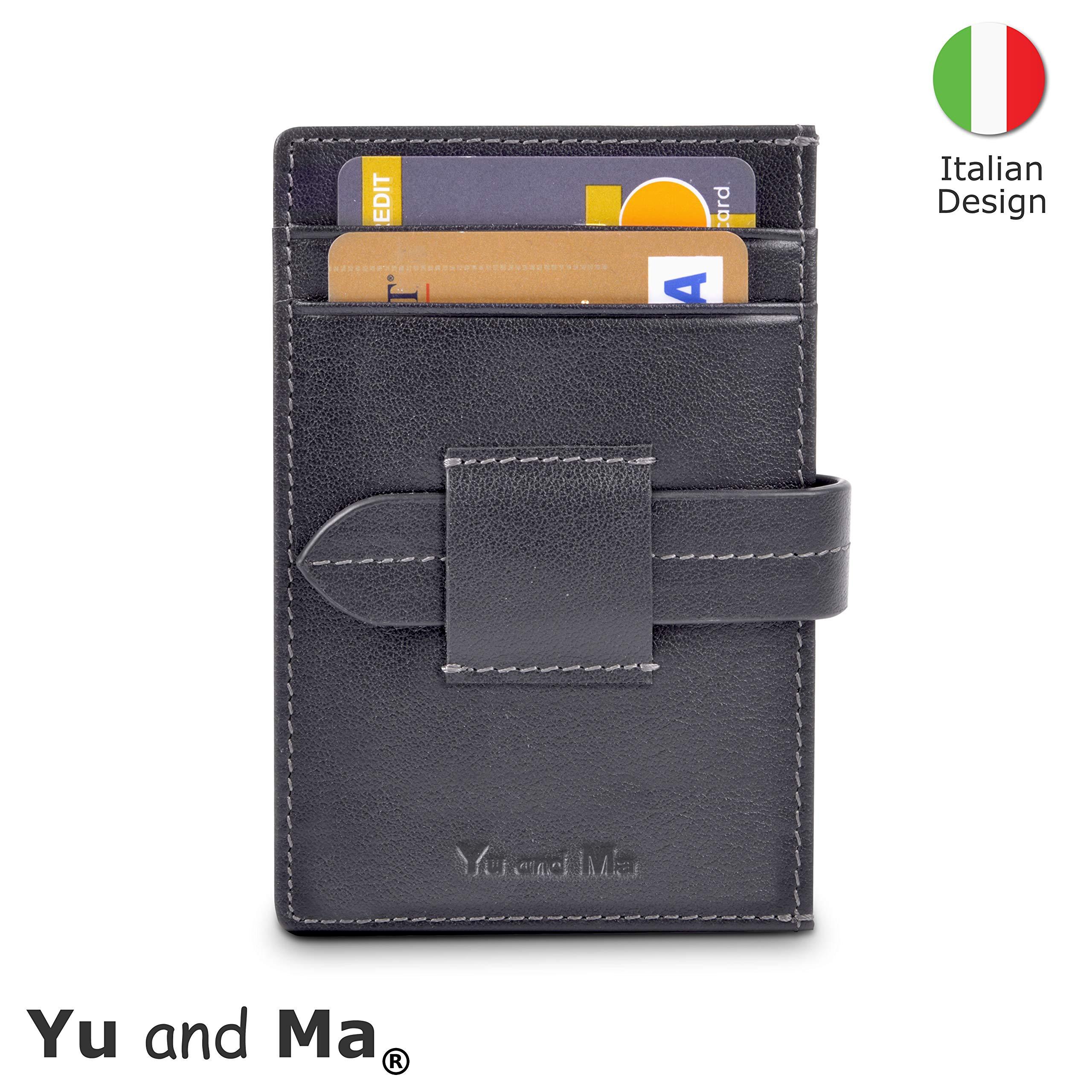 0c874eb6ef Porta Carte Di Credito - Yu and Ma | 14 Slot Wallet | Portafoglio Piccolo  Sottile