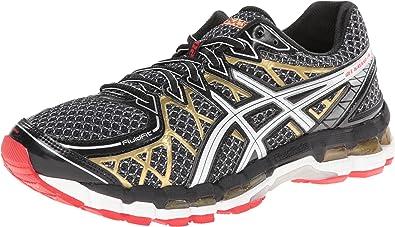 Asics Gel-Kayano 20 Hombre Negro Deportivas Zapatos uevo EU 44: Amazon.es: Zapatos y complementos