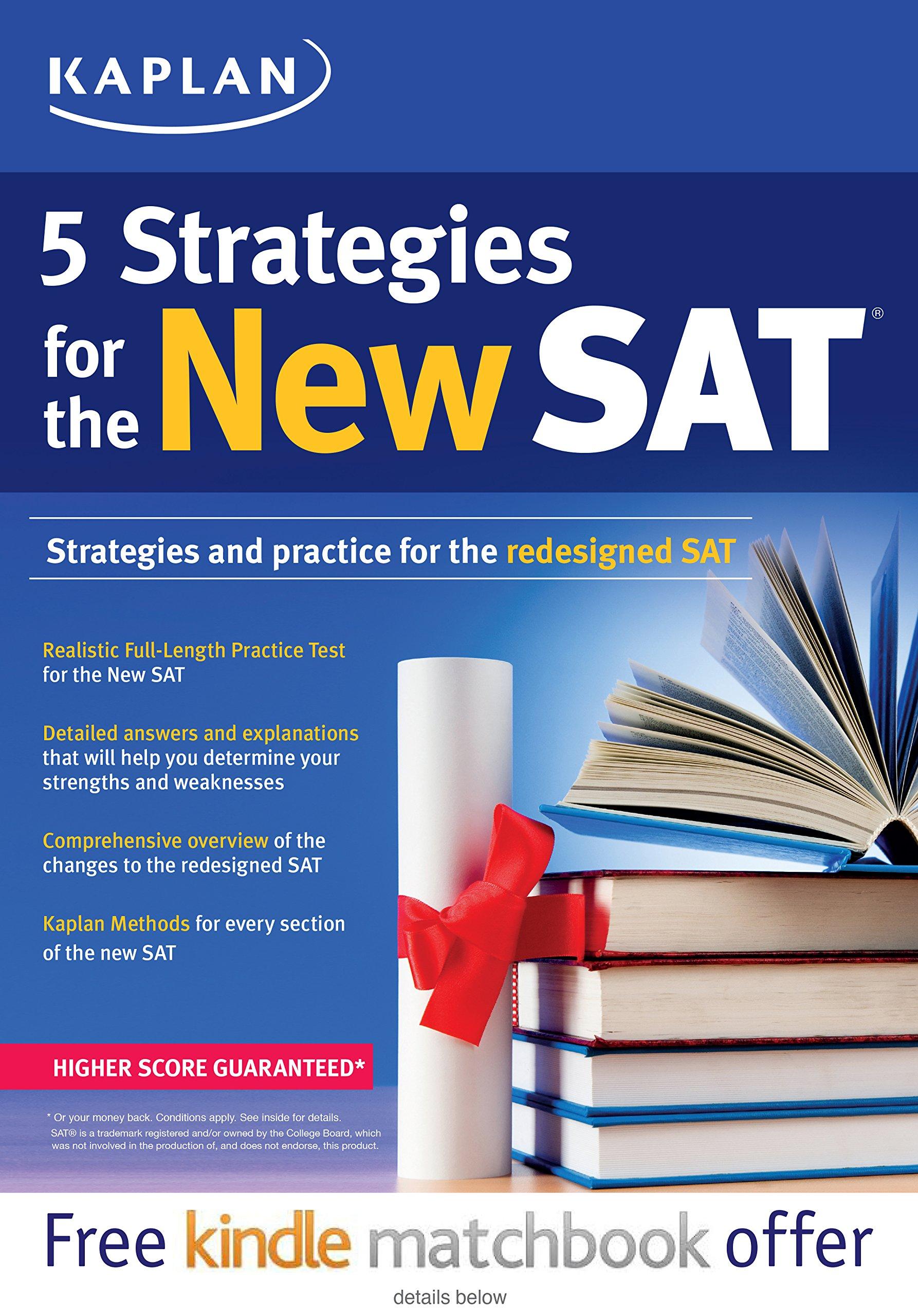 Download Kaplan 5 Strategies for the New SAT (Kaplan Test Prep) PDF