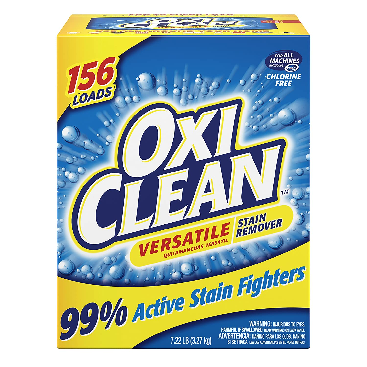 OxiClean Versatile Stain Remover Powder, 115.3 Ounce