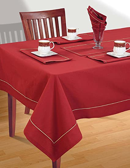 Merveilleux ShalinIndia Square Tablecloth 60 X 60 Inch For 4 Seater Center Or Dining  Table In Indian