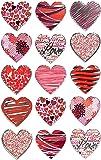 Z-Design Sticker décoratif Matériau spécifique Cœur