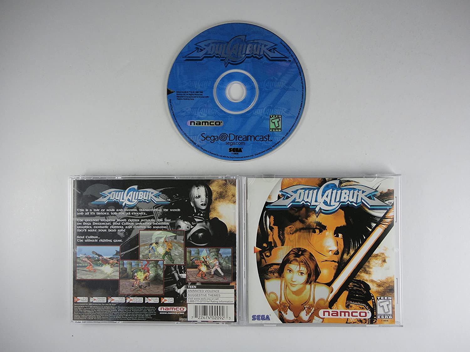 Soul Calibur Sega Dreamcast Video Games Cheats For Pc Playstation Ps2 Xbox N64 And Game Boy Apps
