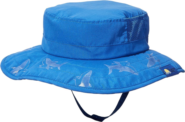 Kids Sun Hat Blue Toddler Children Boys Shade Beach Protection Cap Brim 2 Pack