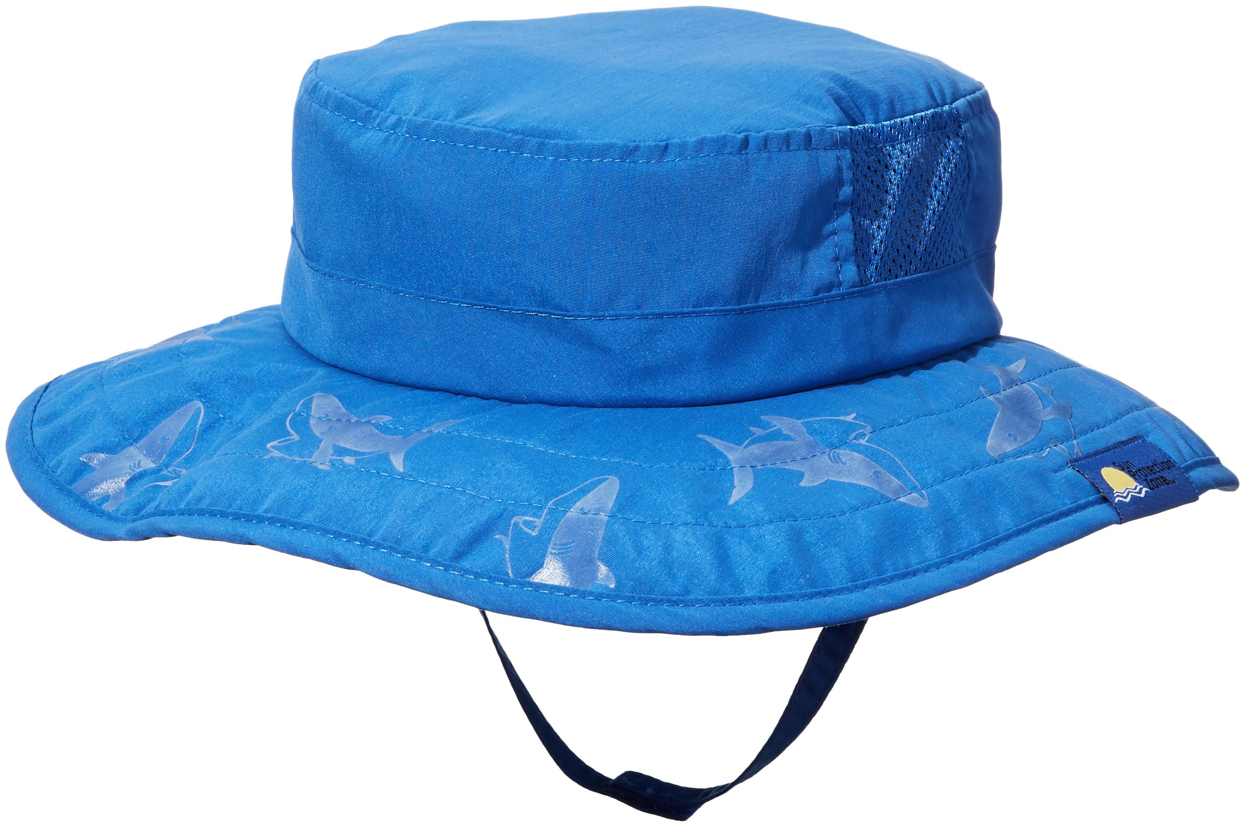2pk Kids Safari Hat Sun Protective Zone UPF 50+ Child Block UV Rays Shade 938151 Blue Boys Fits most children ages 3-10