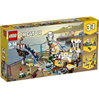LEGO 31084 Creator 3-in-1 Pirate Roller Coaster Building Set, Fun Fairground Construction Toy for Kids