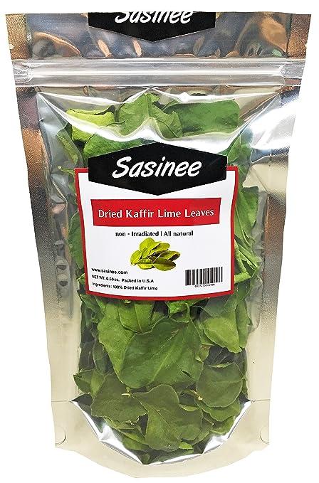 sasinee Dried Kaffir Lime Leaves Organic,Use in for Thai/Asian Cuisine