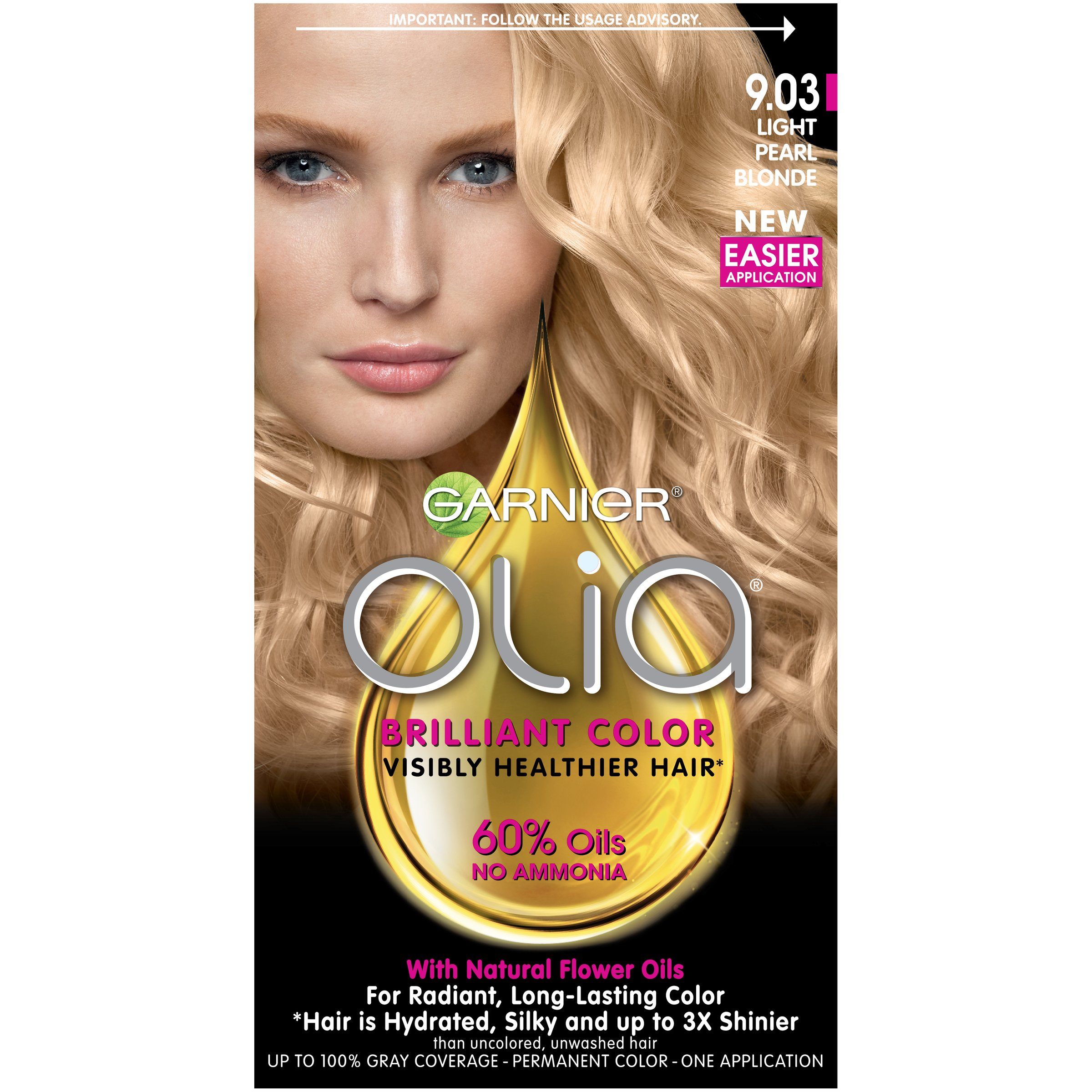 Amazon Garnier Olia Hair Color 8 1 203 Medium Pearl Blonde