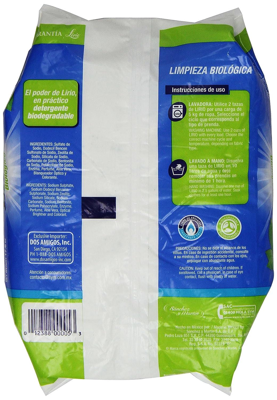 Amazon.com: Lirio, Powder Enzymatic Detergent with Aloe Vera ...