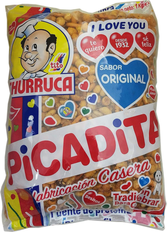 Churruca Original Picadita Cóctel de frutos secos - 1 Kg: Amazon.es: Alimentación y bebidas