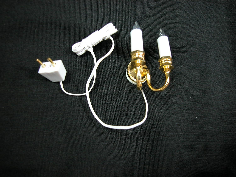 Heidi Ott Dollhouse Miniature 1:12 Scale Single Bulb Wall Sconce Light #YL2001