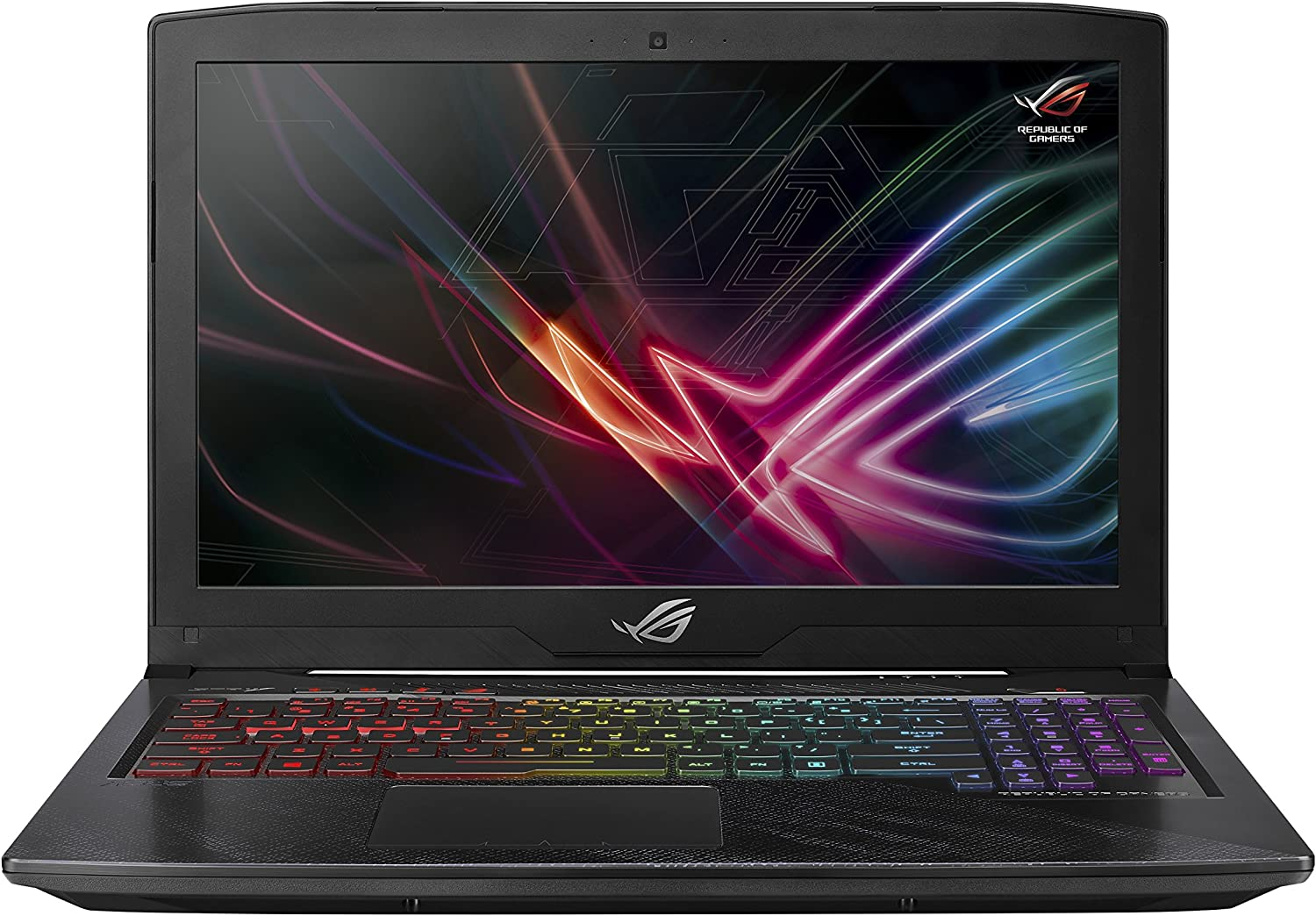 "Asus ROG Strix Scar Edition GL703GE Gaming Laptop, 17.3"" 120Hz Full HD 3ms, 8th Gen Intel Core i7-8750H Processor, GTX 1050 Ti 4GB, 16GB DDR4, 256GB SSD + 1TB HDD, Windows 10 Home, GL703GE-AS74"