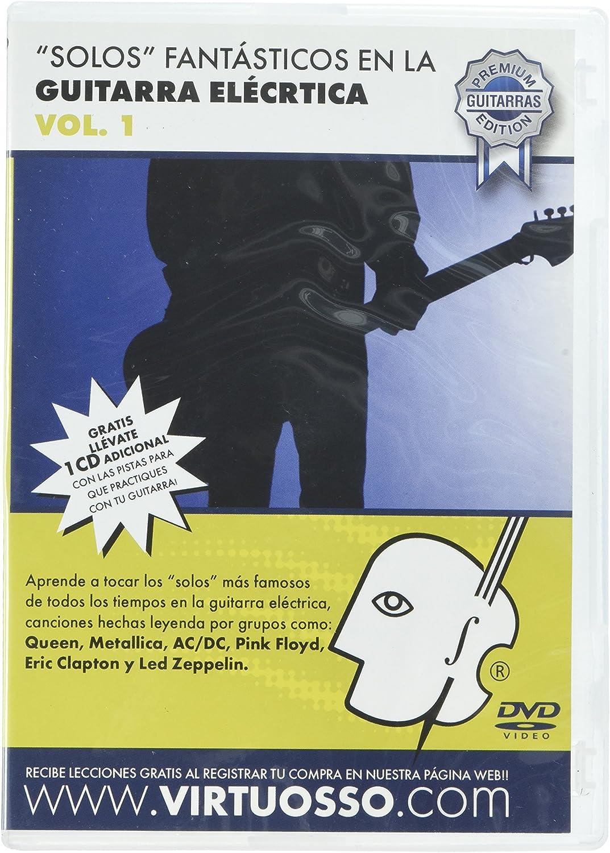 virtuosso Riffs de guitarra eléctrica Vol. 1 (curso de solos ...