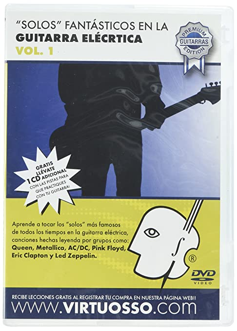 Amazon.com: Virtuosso Electric Guitar Riffs Vol.1 (Curso De Solos ...