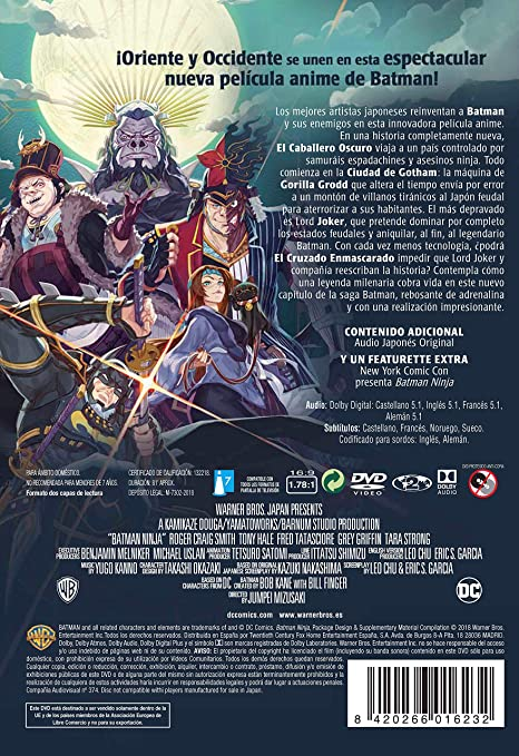 Amazon.com: Batman Ninja (Non USA Format): Movies & TV
