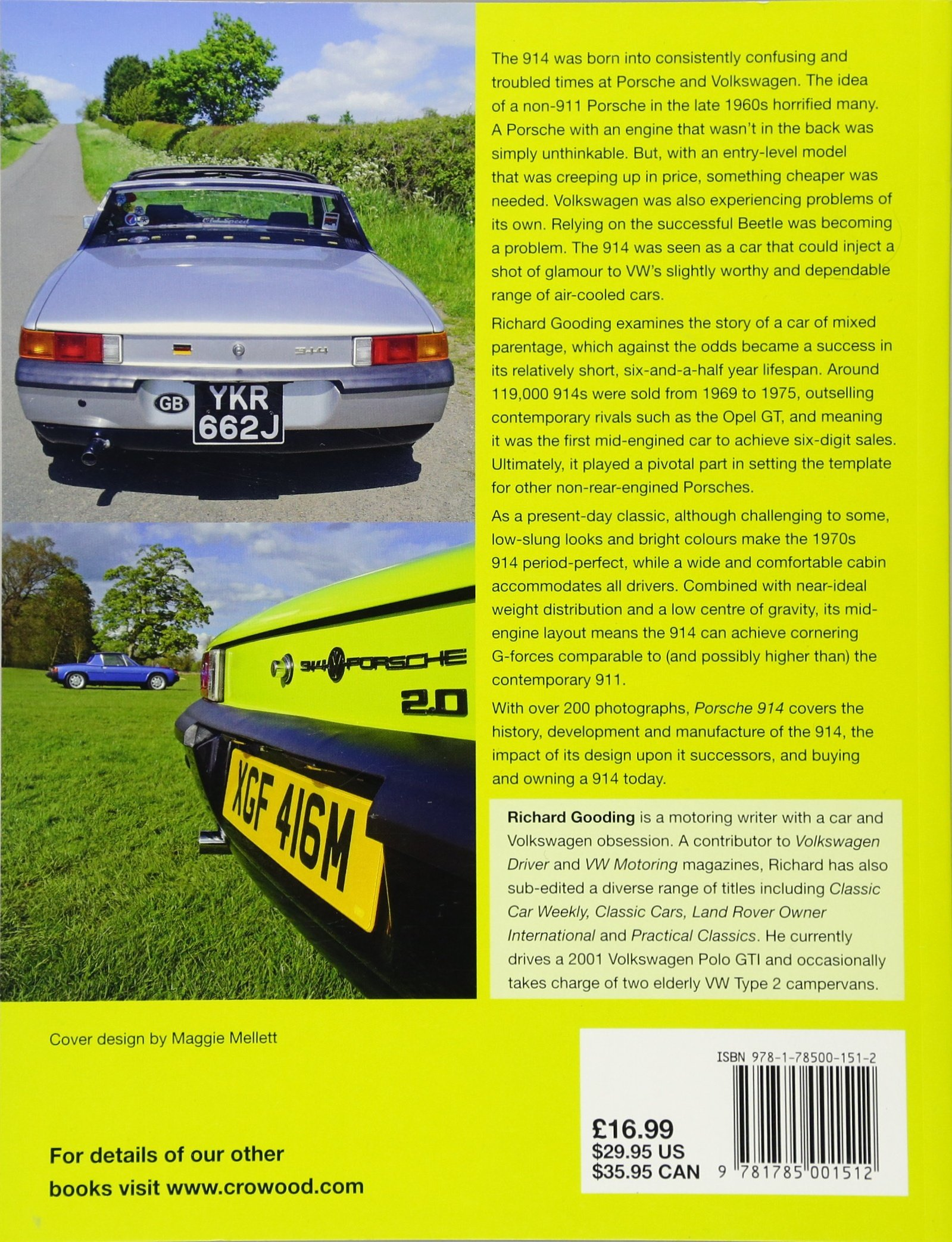 Porsche 914 an enthusiasts guide richard gooding 9781785001512 porsche 914 an enthusiasts guide richard gooding 9781785001512 amazon books fandeluxe Images