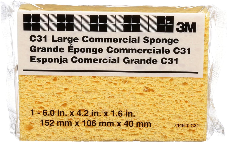 Medium 4.5-Inch x 2.5-Inch x 1-Inch 3M 20908-120-UFS SandBlaster Ultra Flexible Sanding Sponge 120 Grit