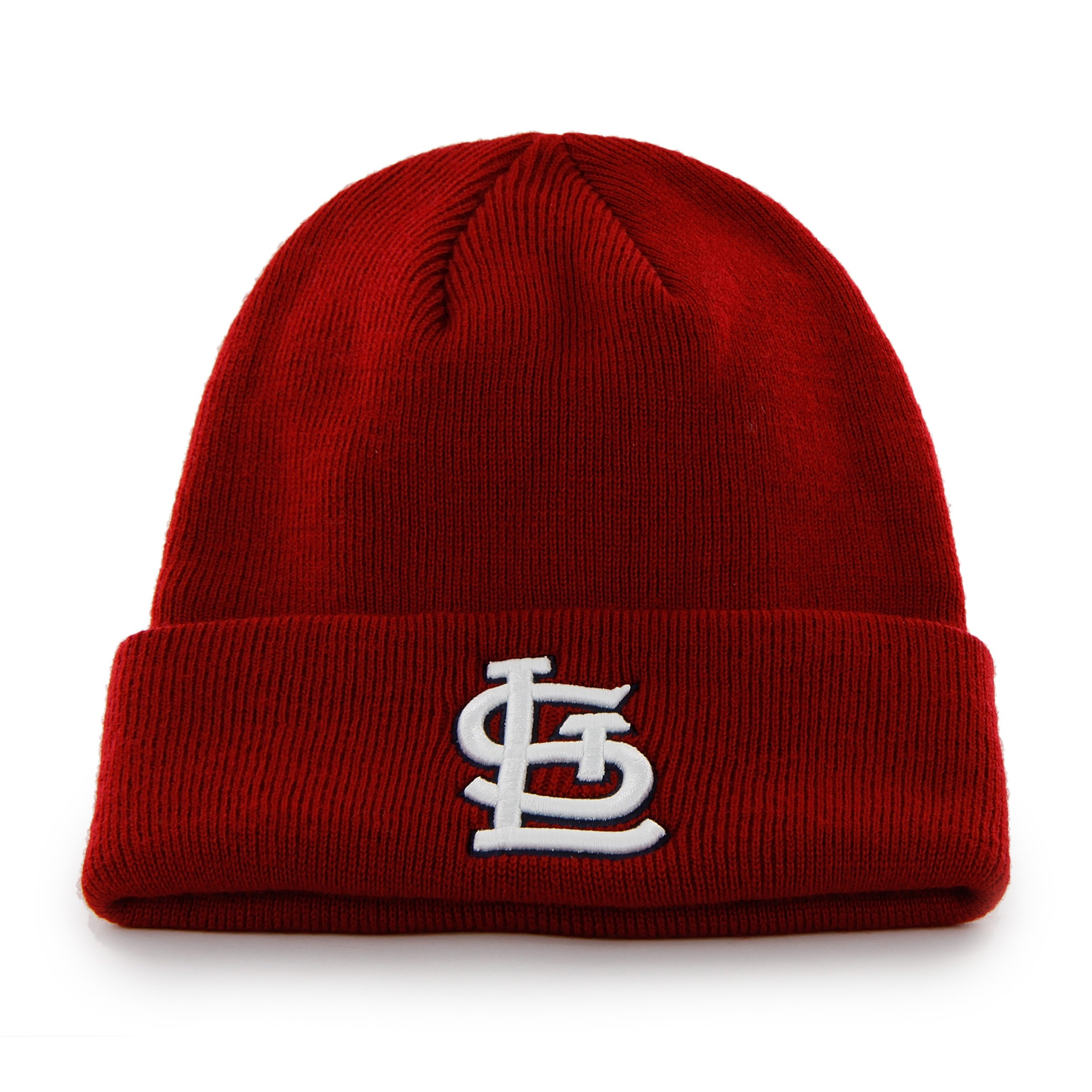 MLB St. Louis Cardinals '47 Raised Cuff Knit Hat, Red, One Size