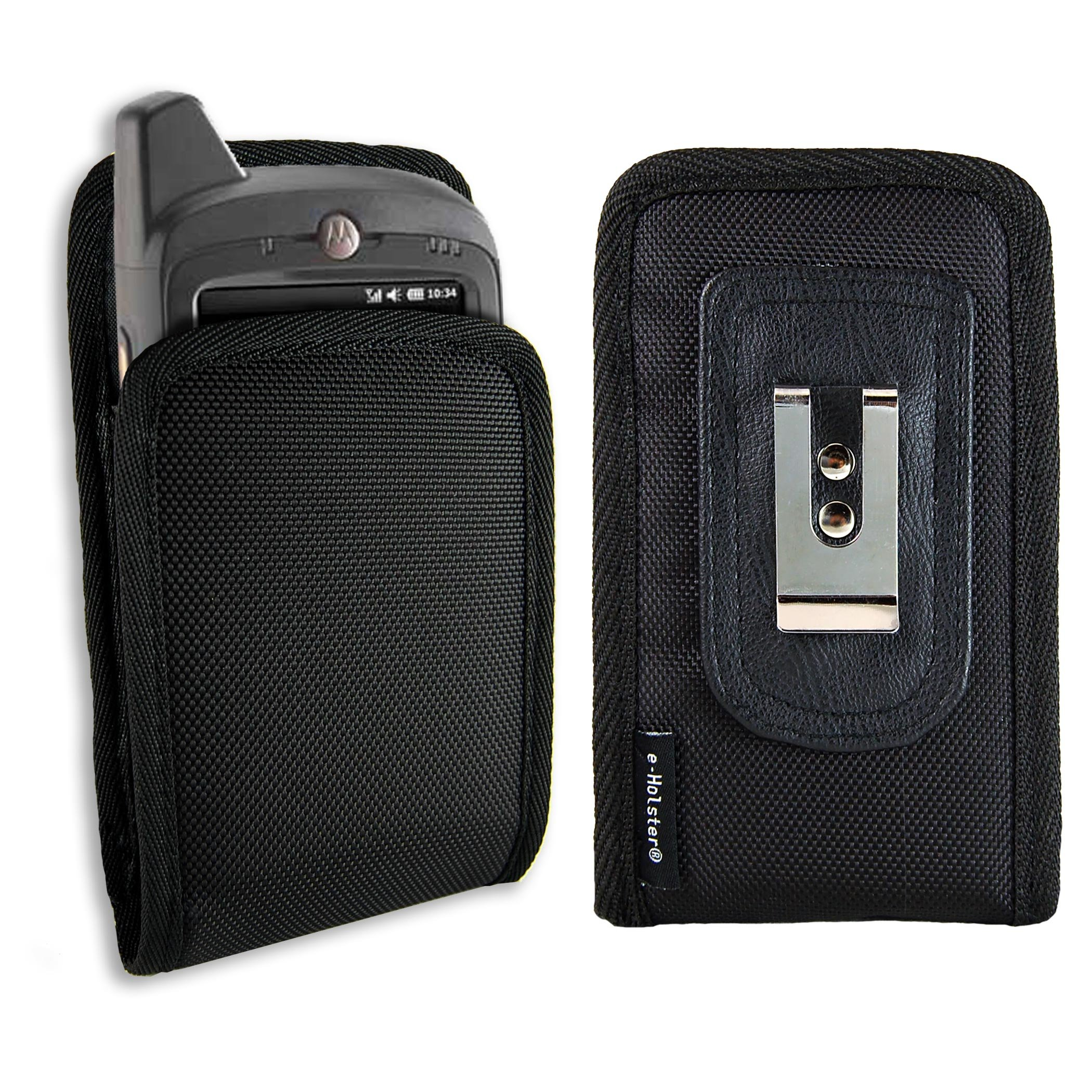 e-Holster Motorola/Zebra MC65 Rugged Ballistic Nylon Case Holster with Belt Clip
