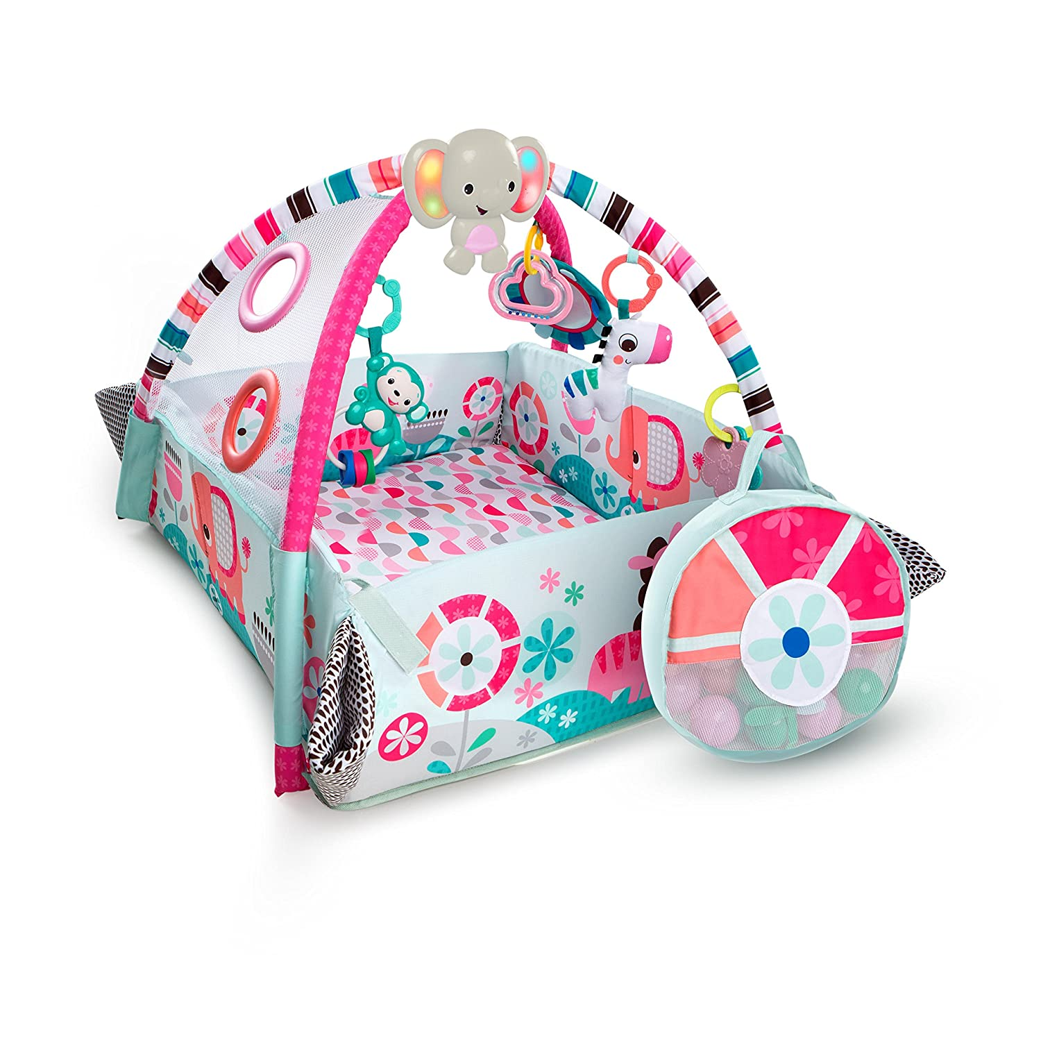 Bright Starts 5-in-1 Your Play Pink Activity Gym 10786