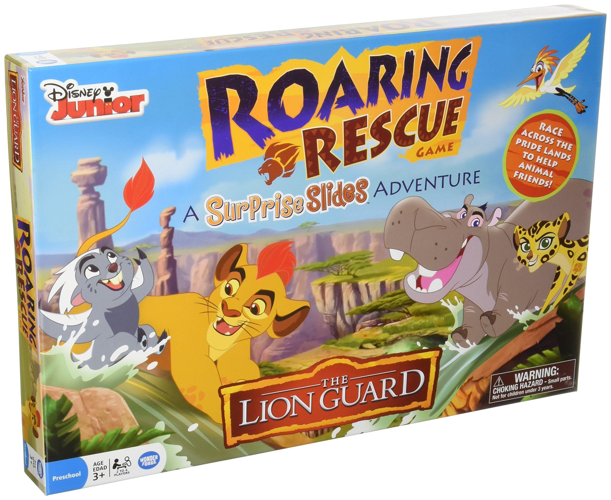 Disney The Lion Guard Surprise Slides Board Game
