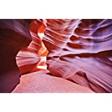 Antelope Canyon FOTOMURALE - Slot Canyon quadro da parete - XXL poster Antelope deserto decorazione da parete America USA Stati Unit i d ' America by GREAT ART (210 x 140 cm)