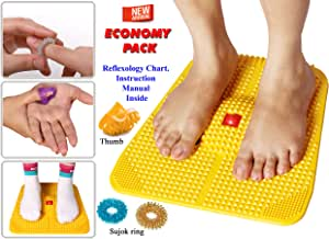 Amazon.com: Acupressure Power Mat with Magnets n Pyramids ...