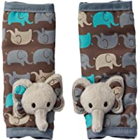 Playette Animal Strap Cover Pals Grey Elephants, Multi