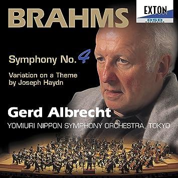 ブラームス:交響曲第4番&ハイドンの主題による変奏曲