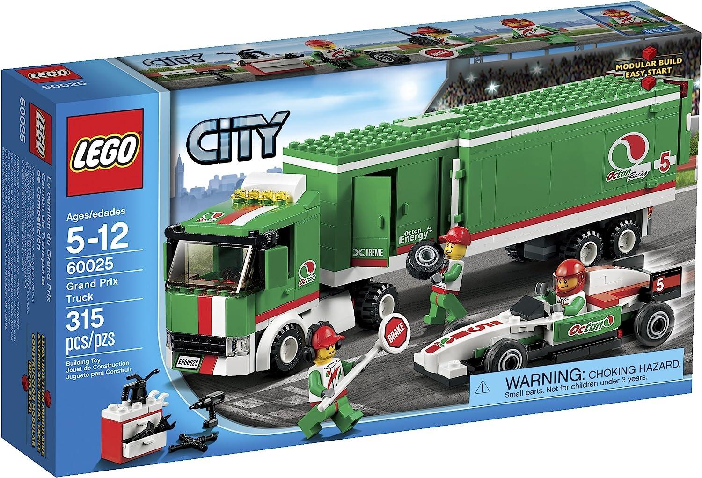 LEGO City 60025 Grand Prix Truck Toy Building Set