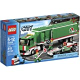 Lego City Grand Prix Truck Toy Building Set