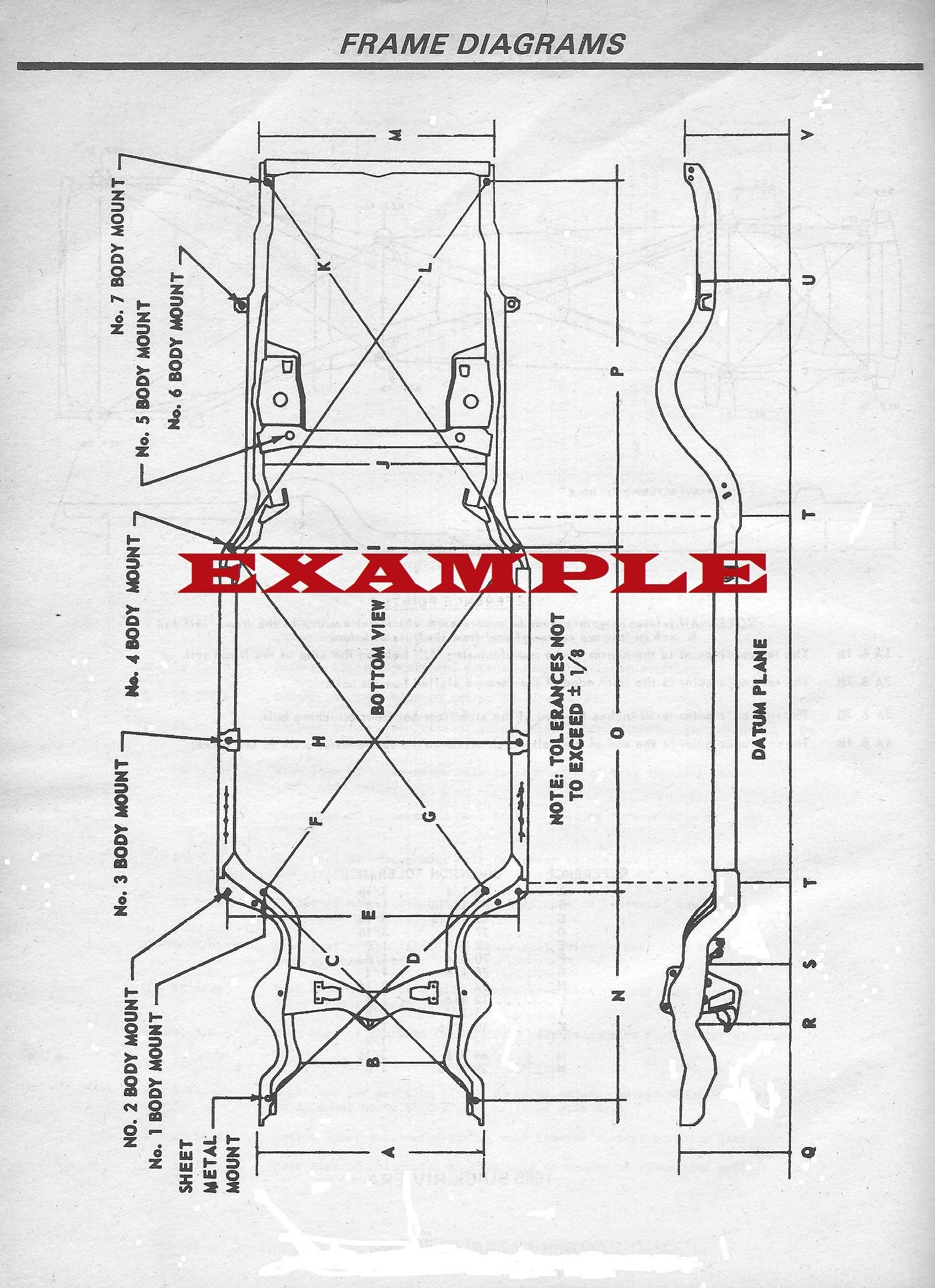 1964 1969 Amc Rambler American 1968 Laminated Wiring Diagrams For Frame Diagram Books