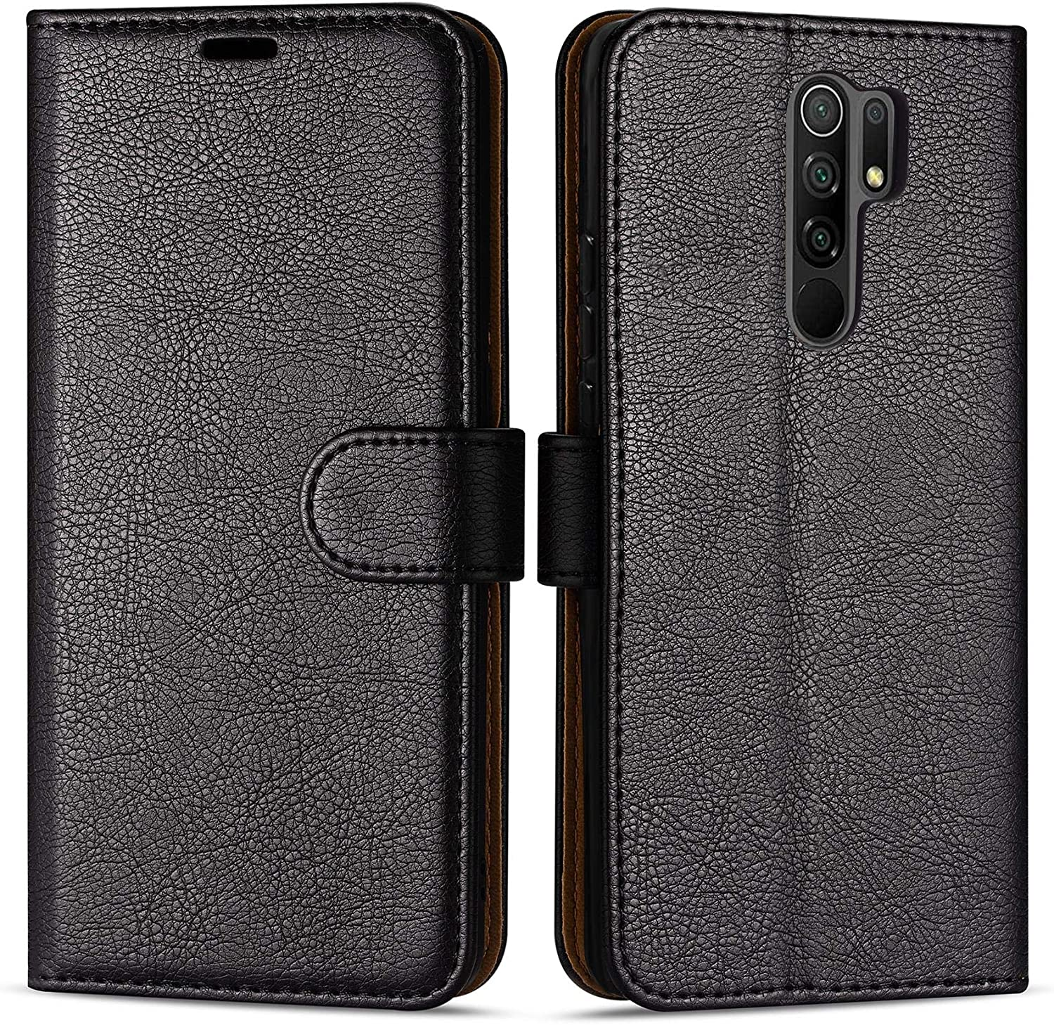 Case Collection Funda de Cuero para Xiaomi Redmi 9 (6,53