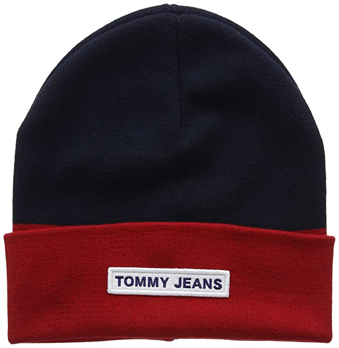 Tommy Hilfiger Tju Logo Beanie, Gorra de béisbol Unisex Adulto, Azul (Corporate 901), Talla única: Amazon.es: Ropa y accesorios