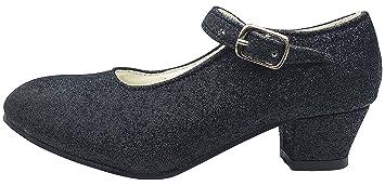 La Senorita Spanische Flamenco Schuhe - Schwarz - Größe 41 - Innenmaß 25,5 cm