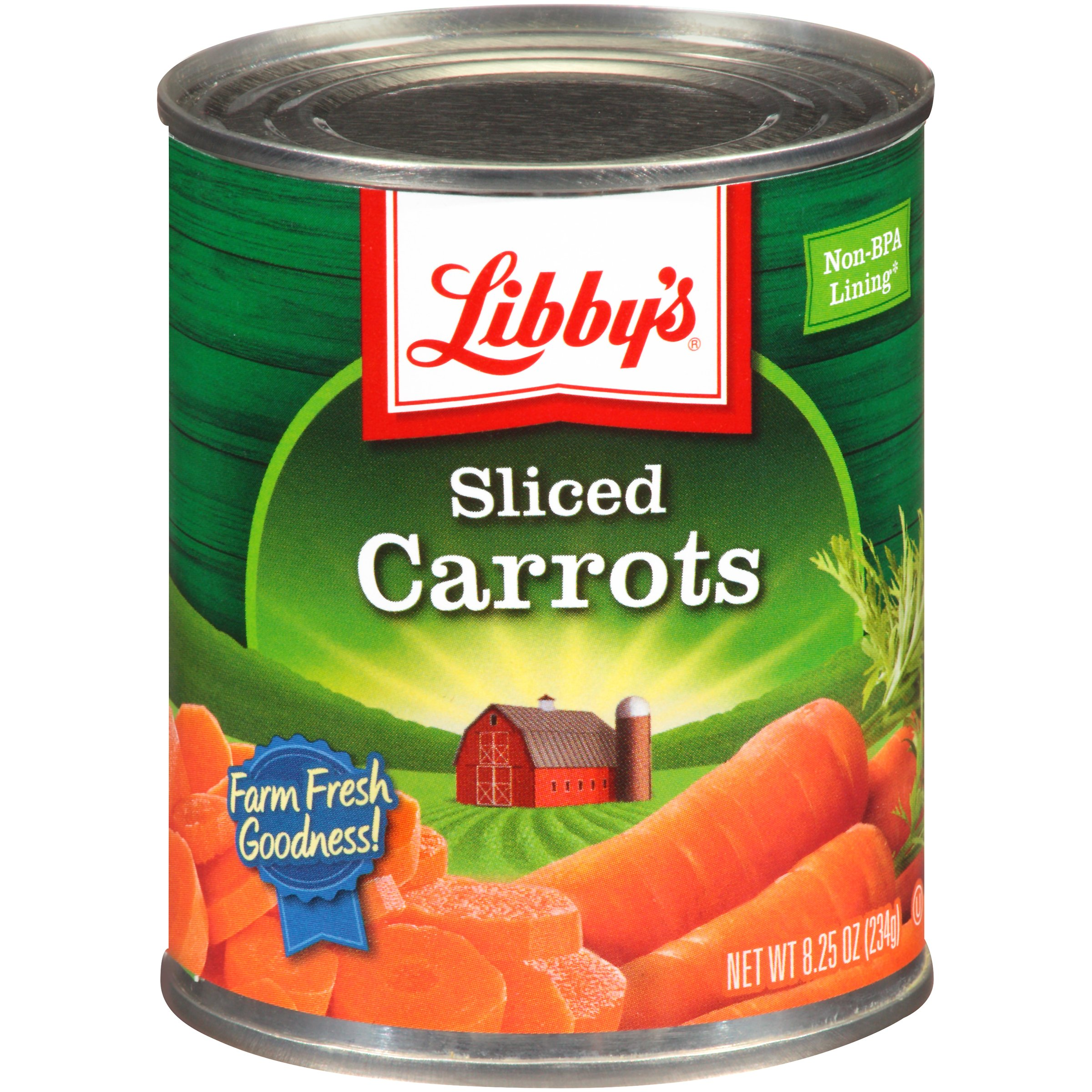 Libby's Sliced Carrots, 8.25 Oz (Pack of 12)