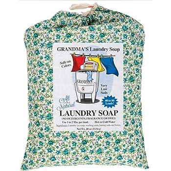 Amazon Com Grandma S Laundry Soap 40 Oz Washes Clothing