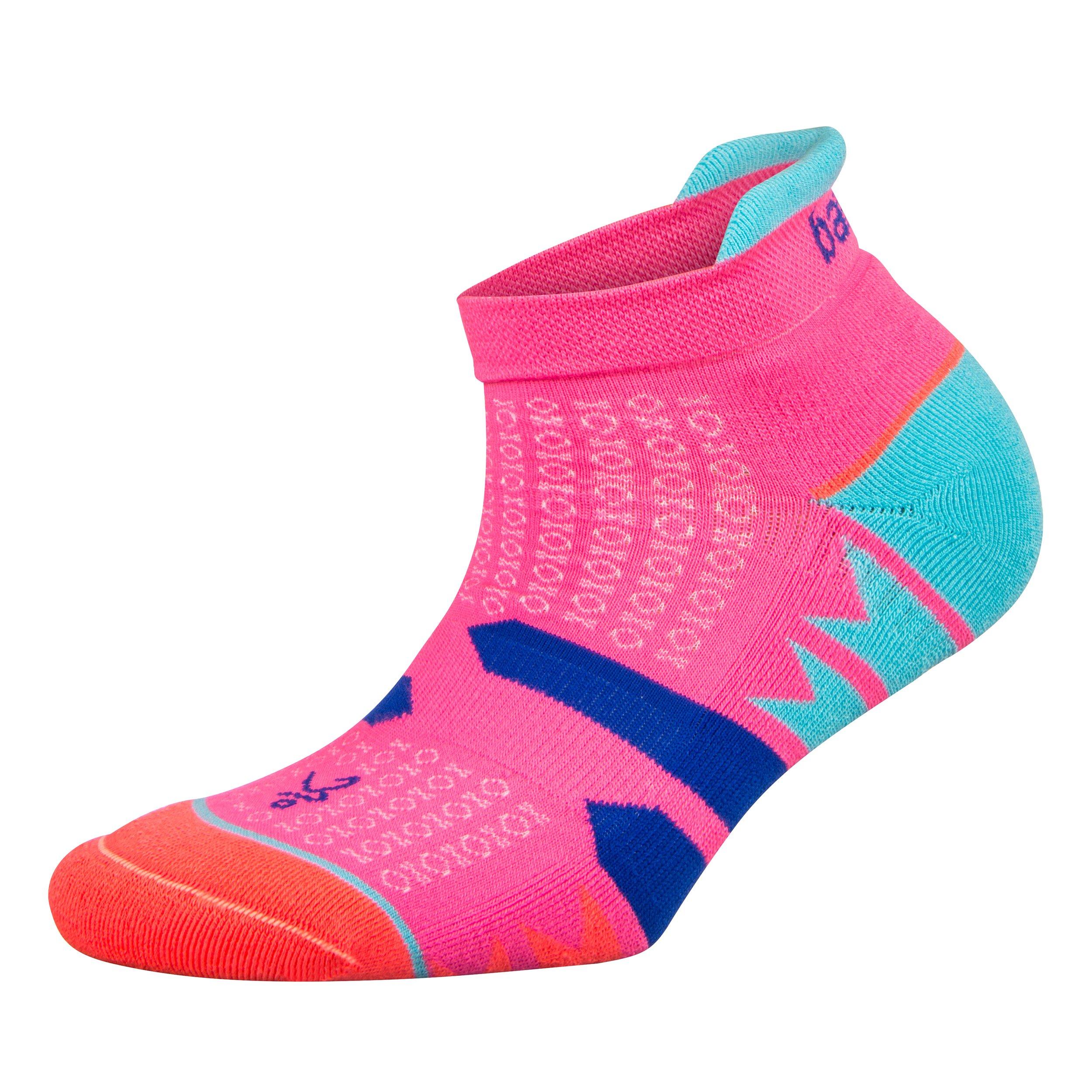 Balega Women's Enduro No Show Socks (1 Pair), Watermelon/Orange, Medium by Balega (Image #1)