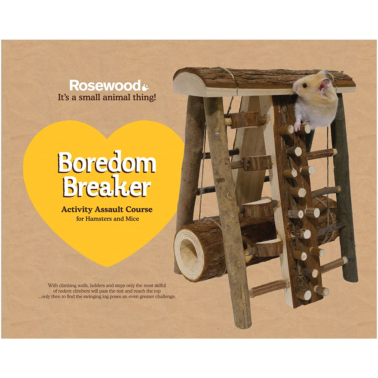 Hamster /& Small Animal Toy Rosewood Activity Climbing Tower