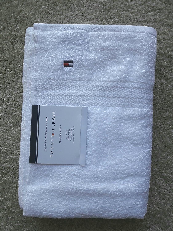 Amazon.com: Tommy Hilfiger All American II Bath Towel 27