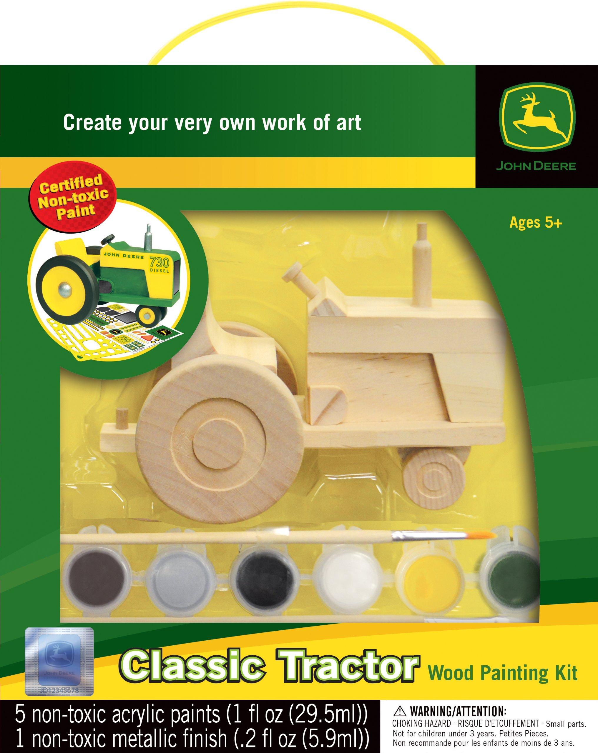 MasterPieces John Deere Classic Tractor Wood Paint Kit