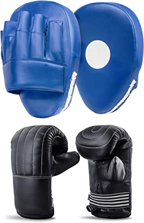 Onex Curved Focus Boxing Pads Hook and Jab Mitts Kick MMA Punching Bag Mitts