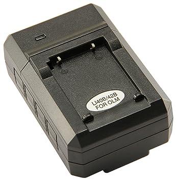 Amazon.com: STK de Olympus Li-40B/42B – Cargador de batería ...