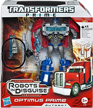 Transformers Hasbro Prime - Optimus Prime y Juego de Accesorios: Amazon.es: Juguetes y juegos
