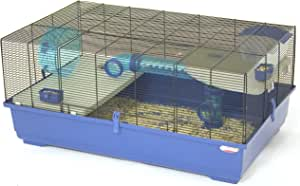 Marchioro Kevin 82 Cage for Small Animals, 32.25 inches, Blue/Black