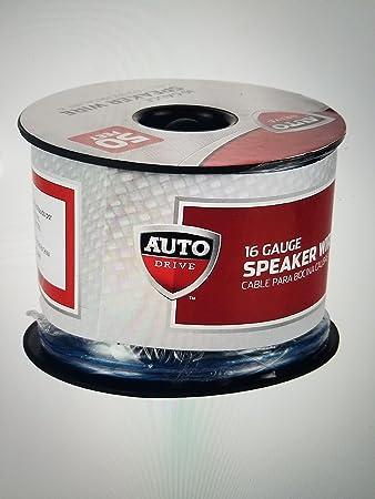 Auto drive speaker wire wire center amazon com auto drive car stereo speaker wire 16ga 50 15 2m rh amazon com auto drive car stereo speaker wire speaker wiring guide keyboard keysfo Gallery